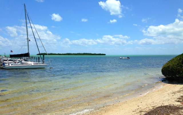 Sailing at Silver Shores, Key Largo