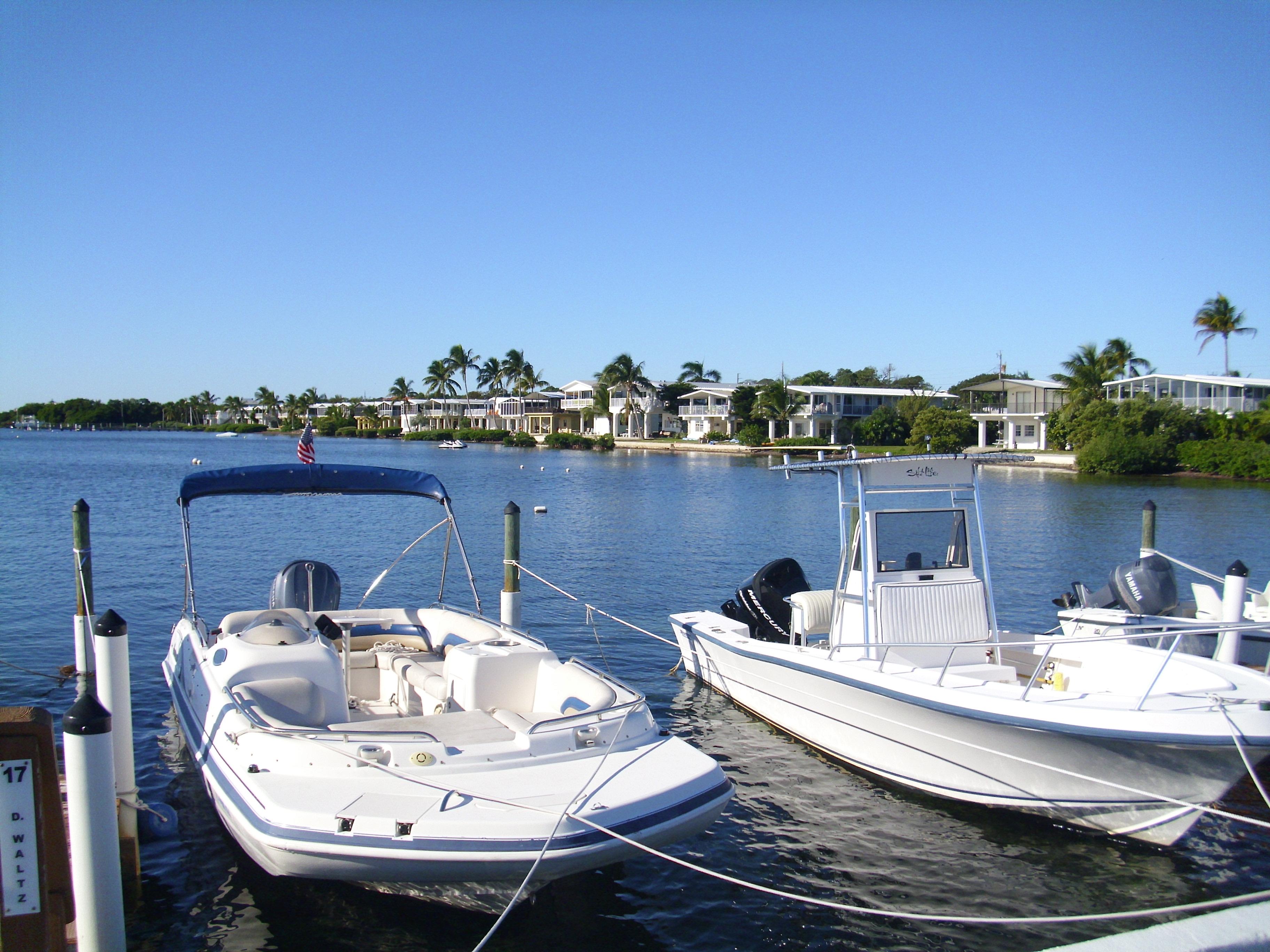 Boating and the Marina at Silver Shores Retirement